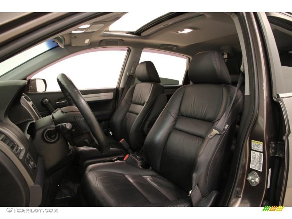 2011 CR-V EX-L 4WD - Urban Titanium Metallic / Black photo #5