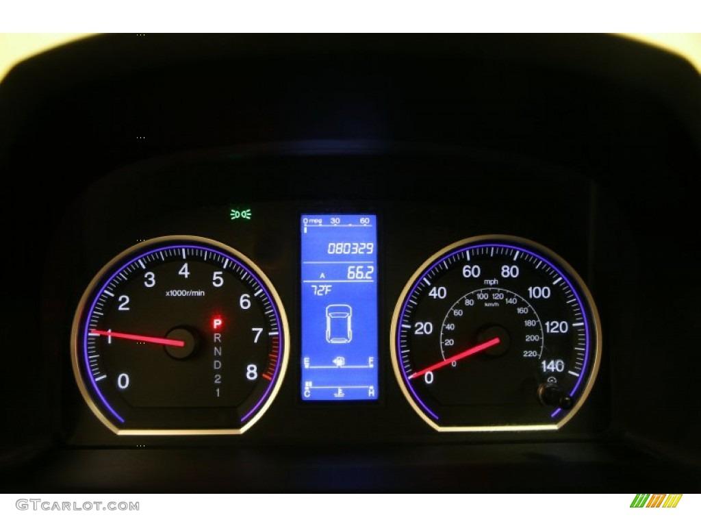 2011 CR-V EX-L 4WD - Urban Titanium Metallic / Black photo #7