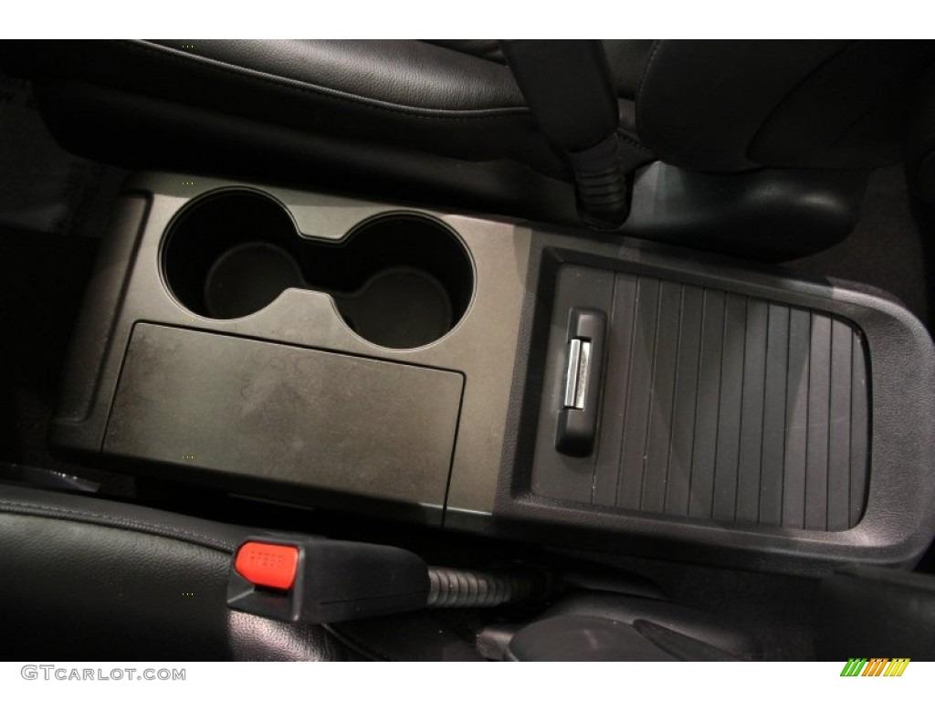 2011 CR-V EX-L 4WD - Urban Titanium Metallic / Black photo #13