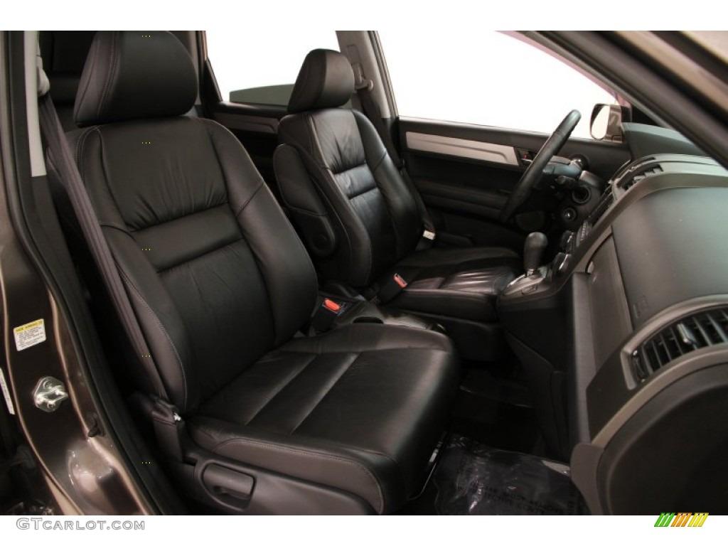 2011 CR-V EX-L 4WD - Urban Titanium Metallic / Black photo #15