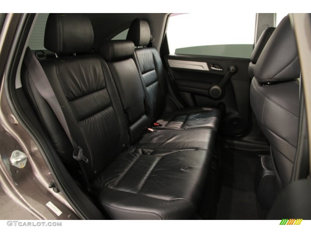 2011 CR-V EX-L 4WD - Urban Titanium Metallic / Black photo #16