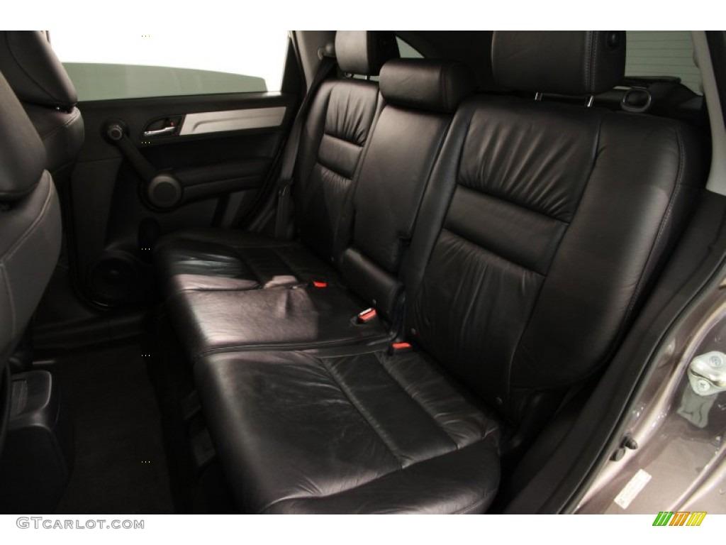 2011 CR-V EX-L 4WD - Urban Titanium Metallic / Black photo #17