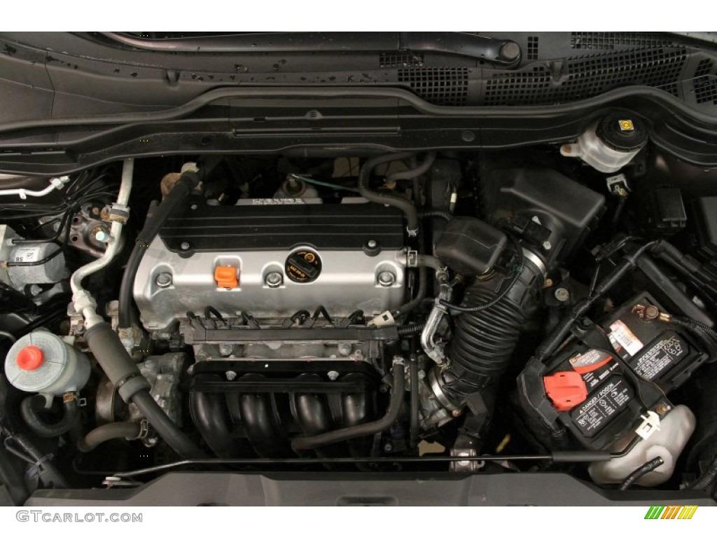 2011 CR-V EX-L 4WD - Urban Titanium Metallic / Black photo #18