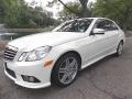 Arctic White 2010 Mercedes-Benz E 350 4Matic Sedan