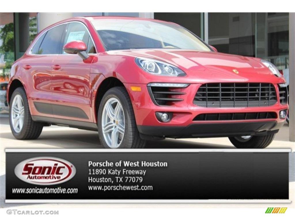 2016 Impulse Red Metallic Porsche Macan S 105458793 Car Color Galleries