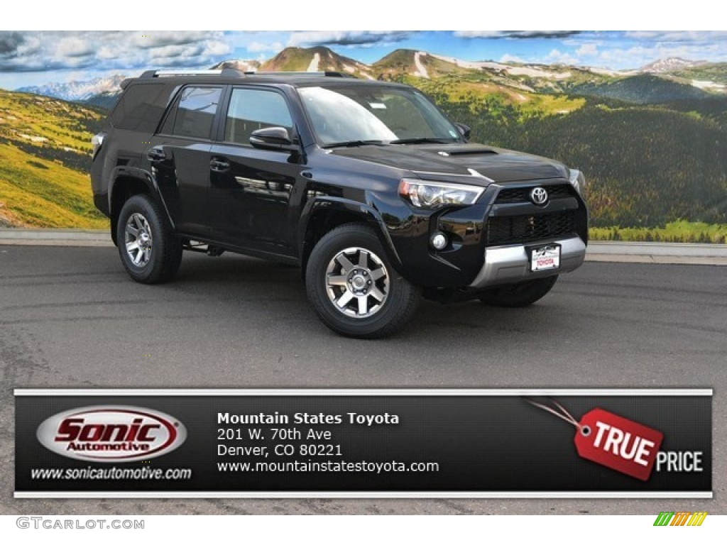2015 attitude black toyota 4runner trail premium 4x4 105458493 car color galleries. Black Bedroom Furniture Sets. Home Design Ideas