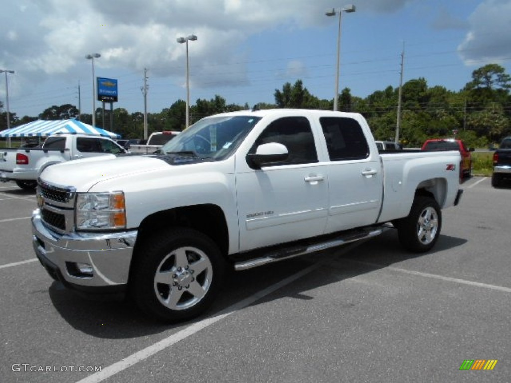 2014 summit white chevrolet silverado 2500hd ltz crew cab 4x4 105458888 car. Black Bedroom Furniture Sets. Home Design Ideas