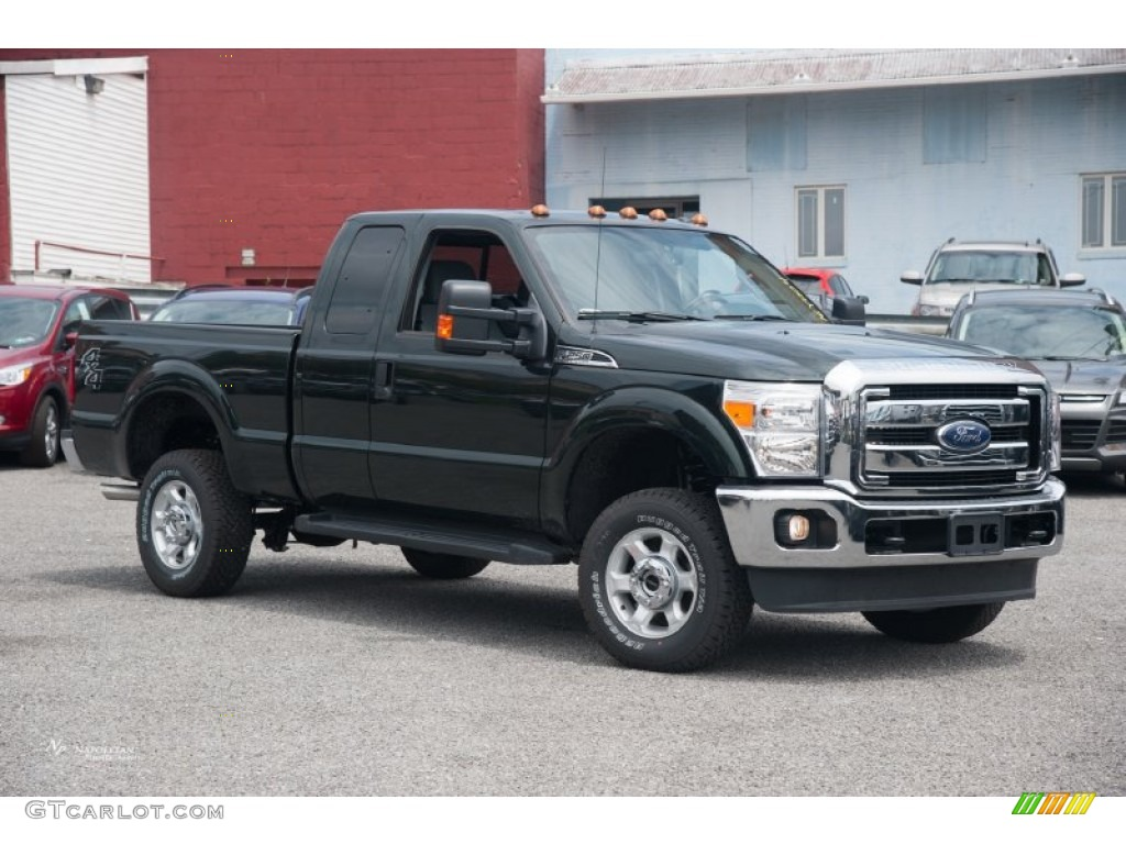 2016 green gem metallic ford f250 super duty xlt super cab. Black Bedroom Furniture Sets. Home Design Ideas