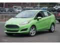 2015 Green Envy Ford Fiesta SE Sedan #105458701