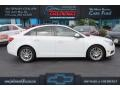 Summit White 2011 Chevrolet Cruze ECO