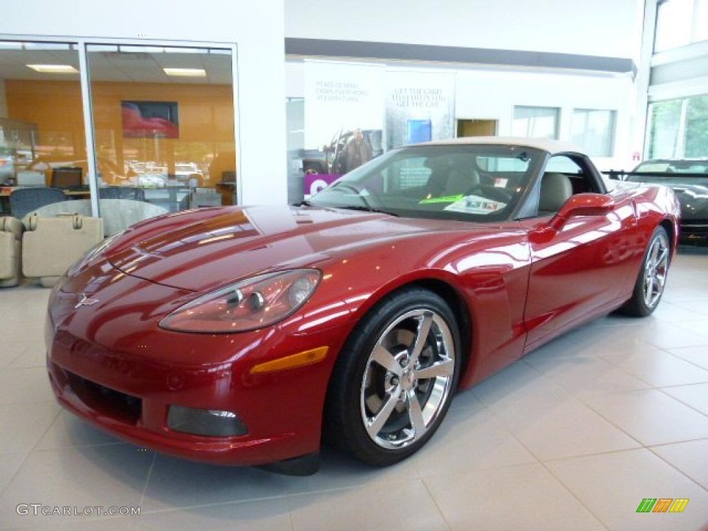 2010 crystal red metallic chevrolet corvette convertible 105514466 car color. Black Bedroom Furniture Sets. Home Design Ideas