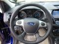 Medium Light Stone Steering Wheel Photo for 2016 Ford Escape #105524003