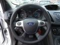 Charcoal Black Steering Wheel Photo for 2016 Ford Escape #105524405