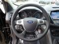 Charcoal Black Steering Wheel Photo for 2016 Ford Escape #105524891