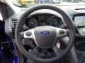 Charcoal Black Steering Wheel Photo for 2016 Ford Escape #105525233