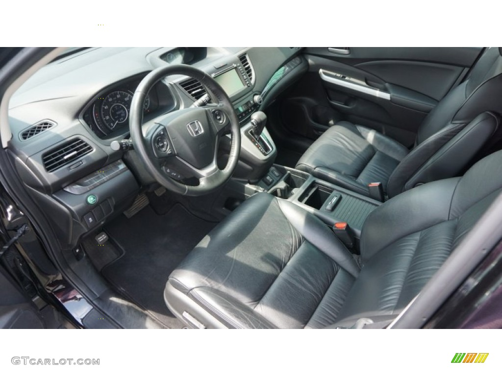 2012 Honda CR-V EX-L 4WD Interior Color Photos