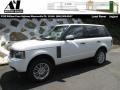 Fuji White 2011 Land Rover Range Rover HSE