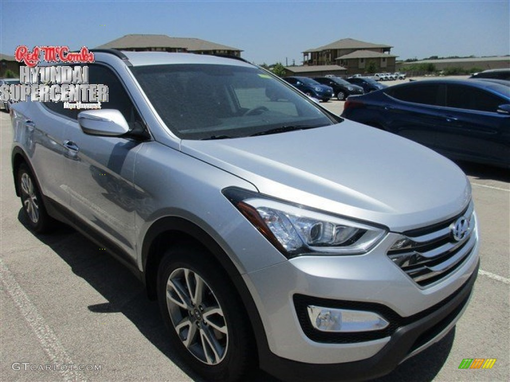 2016 sparkling silver hyundai santa fe sport 2 0t awd 105535807 car color. Black Bedroom Furniture Sets. Home Design Ideas