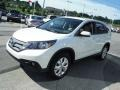 2012 White Diamond Pearl Honda CR-V EX 4WD  photo #5