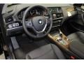 Black Prime Interior Photo for 2016 BMW X3 #105557925