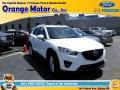 2014 Crystal White Pearl Mica Mazda CX-5 Grand Touring AWD #105536017