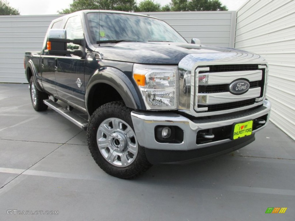 2016 blue jeans metallic ford f250 super duty lariat crew cab 4x4 105575411. Black Bedroom Furniture Sets. Home Design Ideas