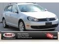 2010 Reflex Silver Metallic Volkswagen Jetta TDI SportWagen #105575610