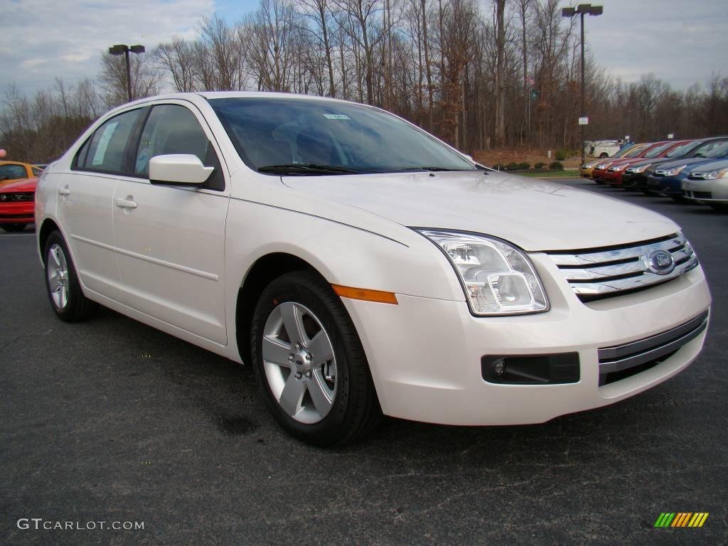 2009 white platinum tri coat metallic ford fusion se 10548610 car color galleries. Black Bedroom Furniture Sets. Home Design Ideas
