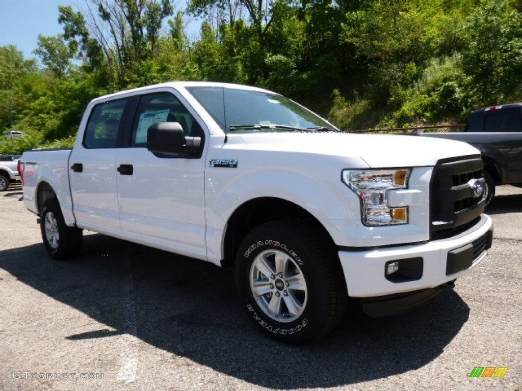 2015 oxford white ford f150 xl supercrew 4x4 105609446 car color galleries. Black Bedroom Furniture Sets. Home Design Ideas