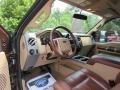 2012 Golden Bronze Metallic Ford F250 Super Duty King Ranch Crew Cab 4x4  photo #37