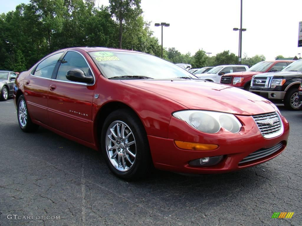 Chrysler Garnet Red Pearl Paint Info
