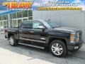 2015 Black Chevrolet Silverado 1500 High Country Crew Cab 4x4 #105638521