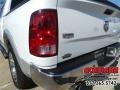 2012 Bright White Dodge Ram 1500 Laramie Crew Cab  photo #5