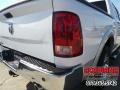 2012 Bright White Dodge Ram 1500 Laramie Crew Cab  photo #8