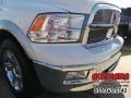 2012 Bright White Dodge Ram 1500 Laramie Crew Cab  photo #11