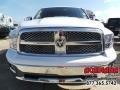 2012 Bright White Dodge Ram 1500 Laramie Crew Cab  photo #12