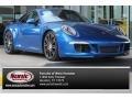 Sapphire Blue Metallic 2014 Porsche 911 Carrera S Coupe
