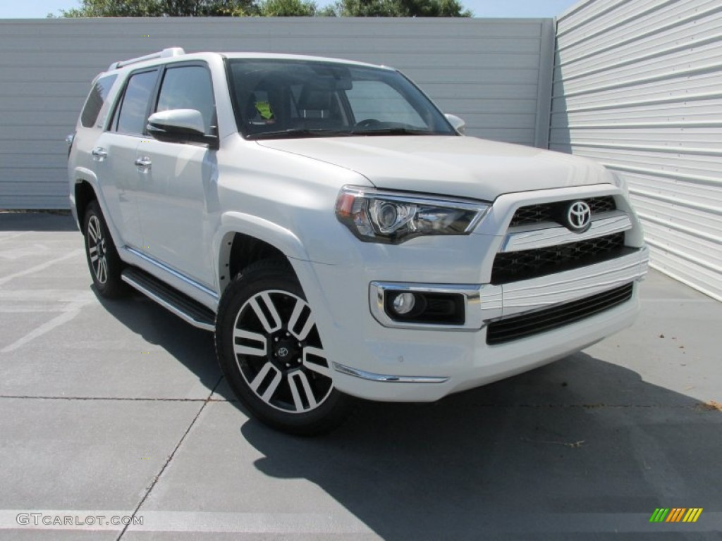 2015 Blizzard White Toyota 4runner Limited 4x4 105698795