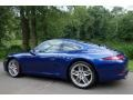 2012 Aqua Blue Metallic Porsche 911 Carrera S Coupe  photo #4