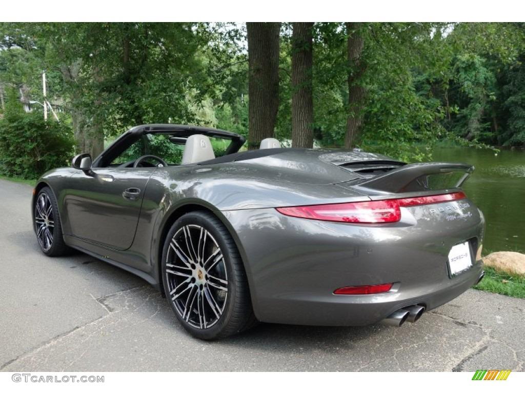 2015 agate grey metallic porsche 911 carrera 4s cabriolet 105698728 photo 4. Black Bedroom Furniture Sets. Home Design Ideas