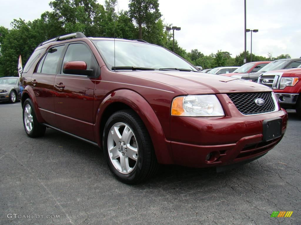 Merlot metallic ford freestyle