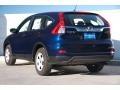 2015 Obsidian Blue Pearl Honda CR-V LX  photo #2