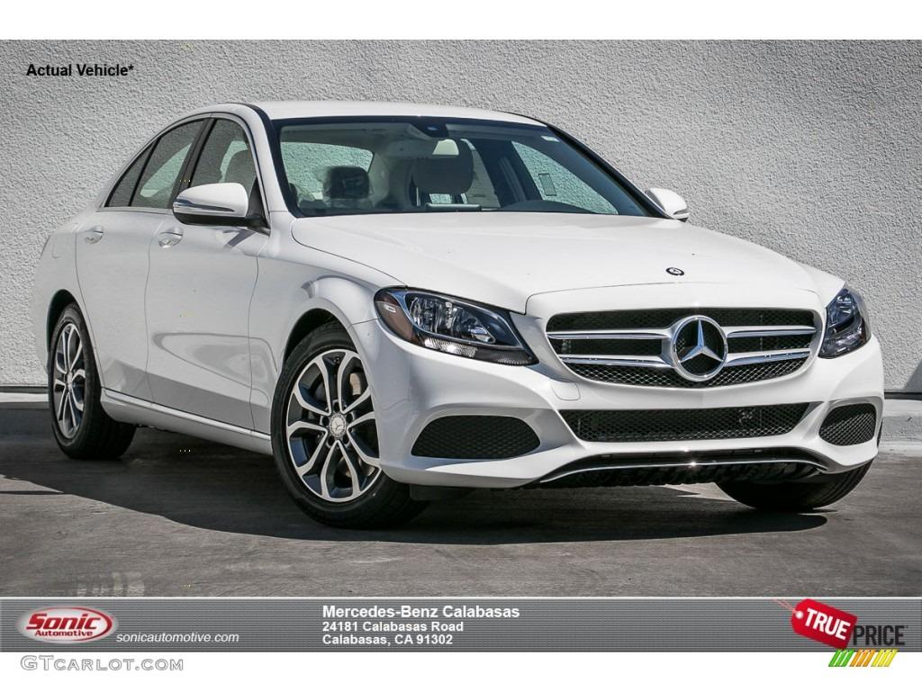 2015 polar white mercedes benz c 300 105716420 gtcarlot for Mercedes benz polar white paint