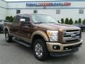 2012 Golden Bronze Metallic Ford F250 Super Duty Lariat Crew Cab 4x4 #105716782