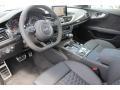 2016 RS 7 Black Valcona w/Honeycomb Stitching Interior
