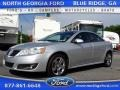 Quicksilver Metallic 2010 Pontiac G6 GT Sedan