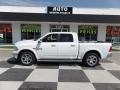 2014 Bright White Ram 1500 Laramie Crew Cab 4x4 #105716684