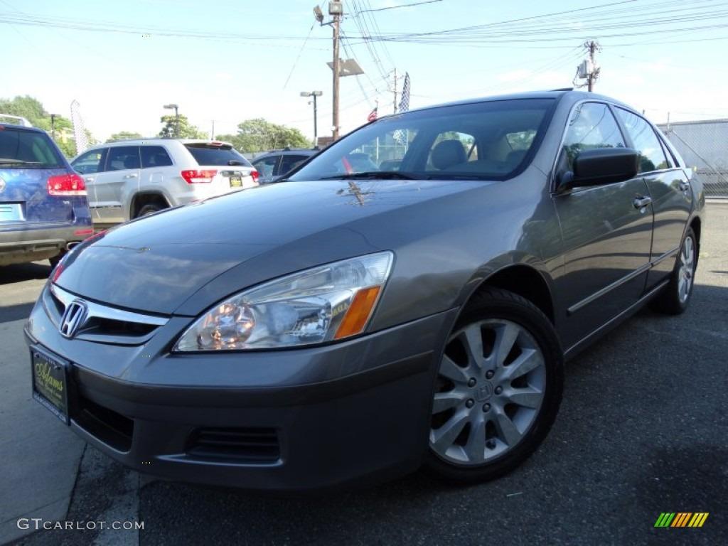 2006 graphite pearl honda accord ex l v6 sedan 105750318 for Honda accord ex l v6