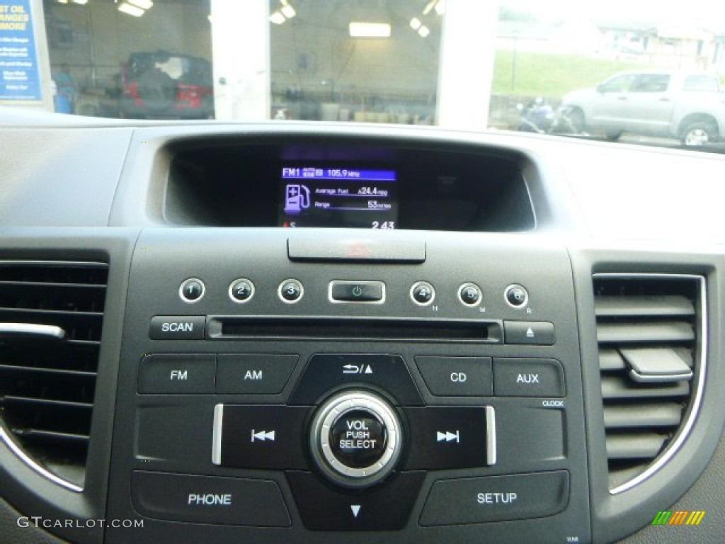 2013 CR-V EX AWD - White Diamond Pearl / Gray photo #15