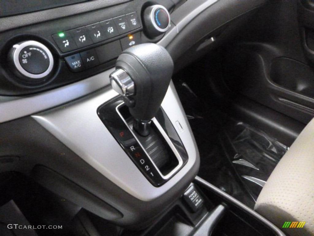 2013 CR-V EX AWD - White Diamond Pearl / Gray photo #19